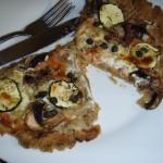 Foto: R. van West, Pizza met zalm en cr