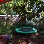 De tuin een jaar later