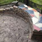 Mozaiek bankje