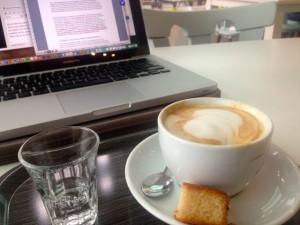 Computer koffie